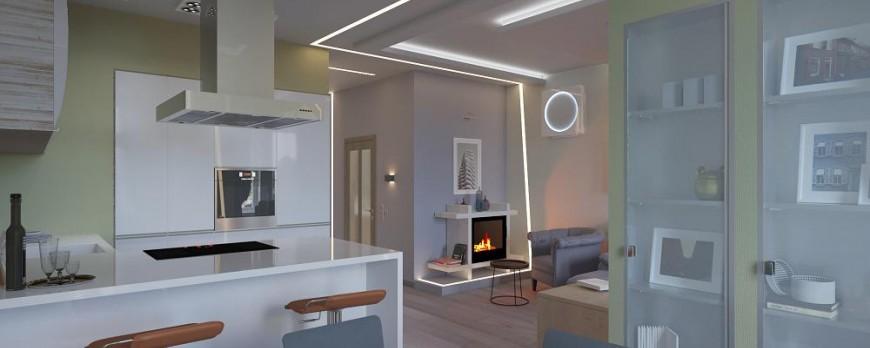 Дизайн, освещение, отделка в квартире