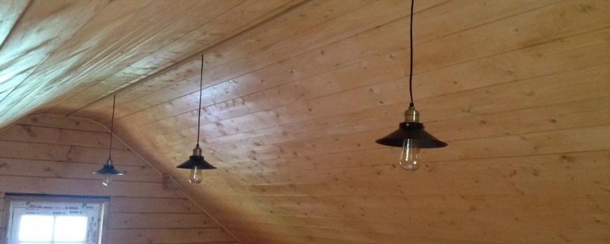 Монтаж электропроводки в деревянном доме под ключ